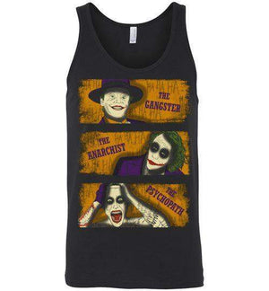 Types Of Clowns-Comics Tank Tops-Ddjvigo|Threadiverse