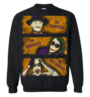 Types Of Clowns-Comics Sweatshirts-Ddjvigo|Threadiverse