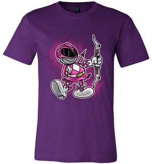 Vintage Pink Ranger-Pop Culture Shirts-Punksthetic Designs|Threadiverse