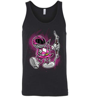 Vintage Pink Ranger-Pop Culture Tank Tops-Punksthetic Designs|Threadiverse