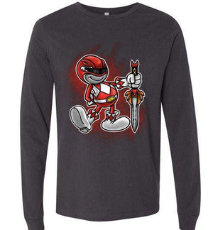 Vintage Red Ranger-Pop Culture Sweatshirts-Punksthetic Designs|Threadiverse