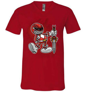 Vintage Red Ranger-Pop Culture Shirts-Punksthetic Designs|Threadiverse