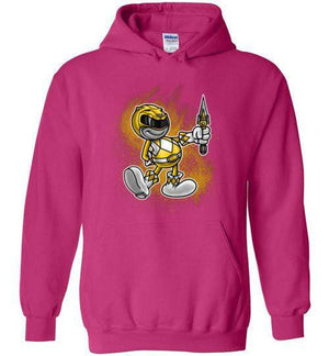 Vintage Yellow Ranager-Pop Culture Hoodies-Punksthetic Designs|Threadiverse
