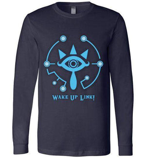 Wake Up Link-Gaming Long Sleeves-kempo24|Threadiverse