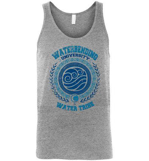 Waterbending University-Animation Tank Tops-Typhoonic Artwork|Threadiverse