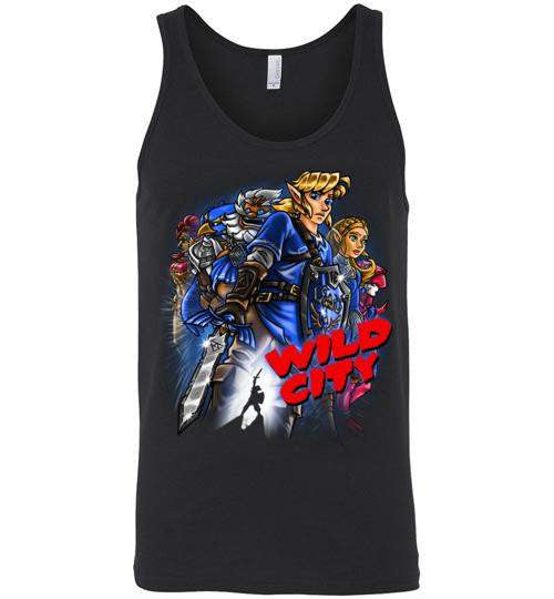 Wild City-Gaming Tank Tops-Punksthetic Designs|Threadiverse