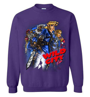 Wild City-Gaming Sweatshirts-Punksthetic Designs|Threadiverse