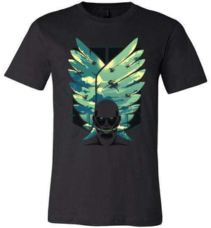 Wings Of Freedom-Anime Shirts-Hyperlixir|Threadiverse