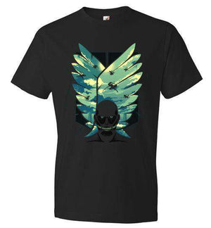 WingsFreedom-Anime Shirts-Hyperlixir|Threadiverse
