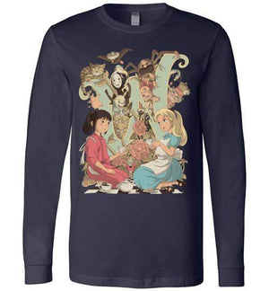Wonderlands-Pop Culture Long Sleeves-Saqman|Threadiverse