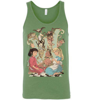 Wonderlands-Pop Culture Tank Tops-Saqman|Threadiverse