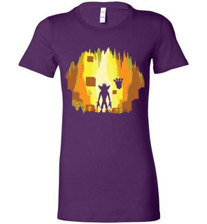 Wumpa World-Gaming Women's Shirts-Daletheskater|Threadiverse