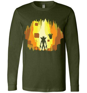 Wumpa World-Gaming Long Sleeves-Daletheskater|Threadiverse