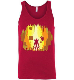 Wumpa World-Gaming Tank Tops-Daletheskater|Threadiverse
