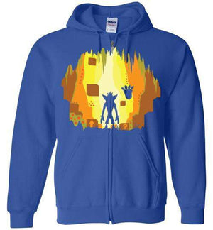Wumpa World-Gaming Hoodies-Daletheskater|Threadiverse