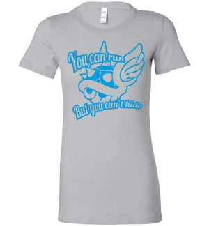 You Can Run-Gaming Women's Shirts-DEMONIGOTE|Threadiverse