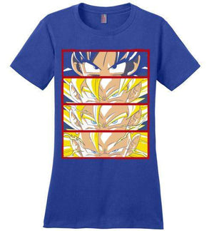 Z Levels-Anime Women's Perfect Weight Shirts-Ddjvigo|Threadiverse