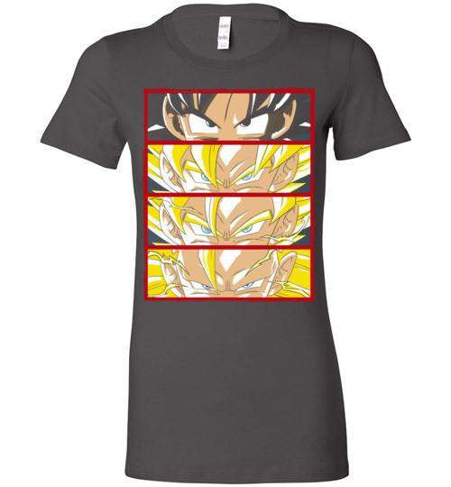 Z Levels-Anime Women's Shirts-Ddjvigo|Threadiverse