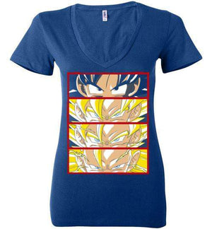 Z Levels-Anime Women's V-Necks-Ddjvigo|Threadiverse