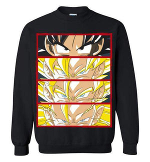 Z Levels-Anime Sweatshirts-Ddjvigo|Threadiverse