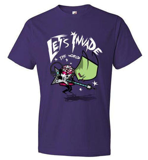 Zim Pilgrim-Animation Shirts-CoD (Create Or Destroy) Designs|Threadiverse