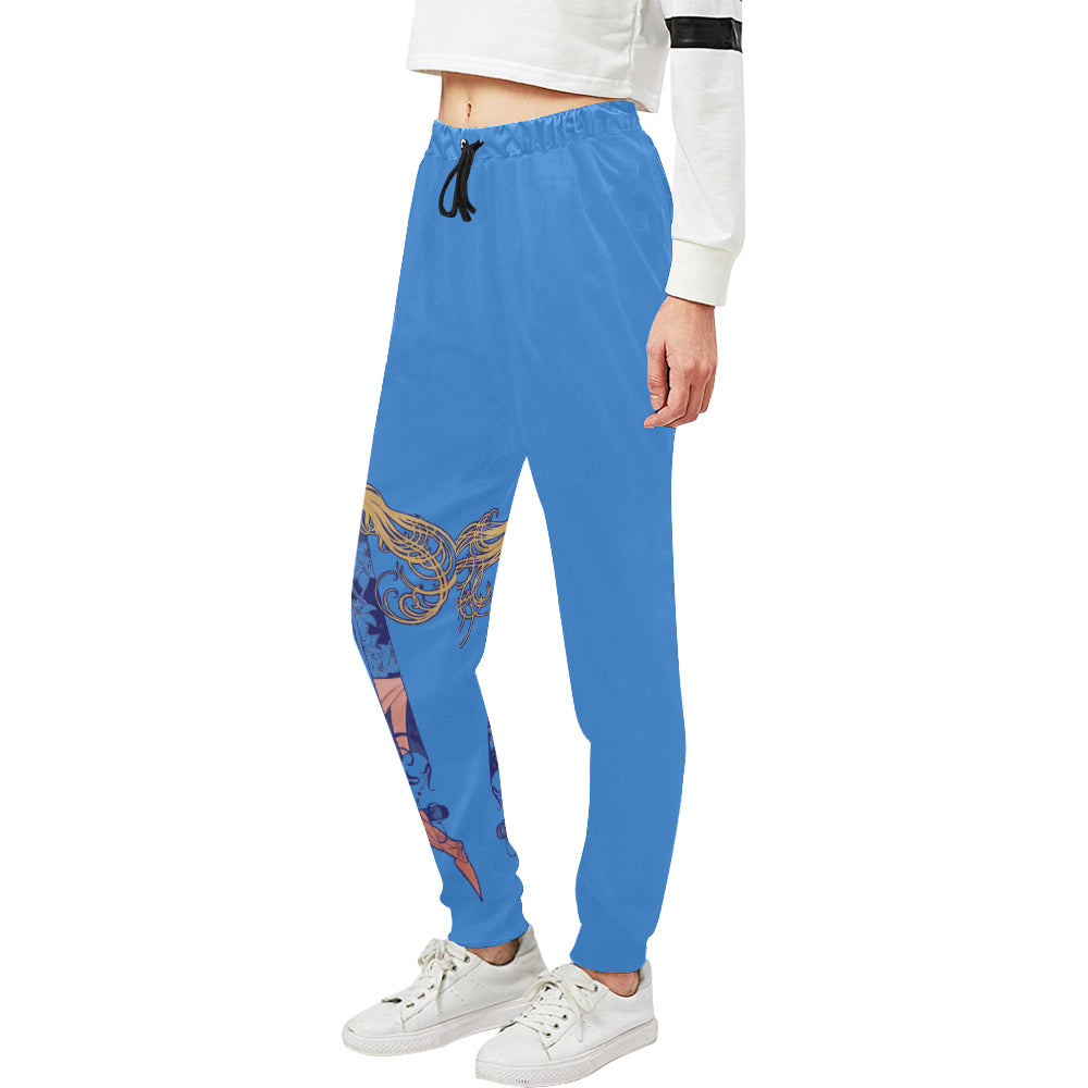 By Moonlight Sweats Women's All Over Print Sweatpants (Model L11)