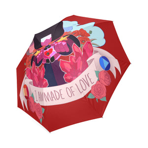 I Am Made Of Love Umbrella Foldable Umbrella-Foldable Umbrella-e-joyer|Threadiverse