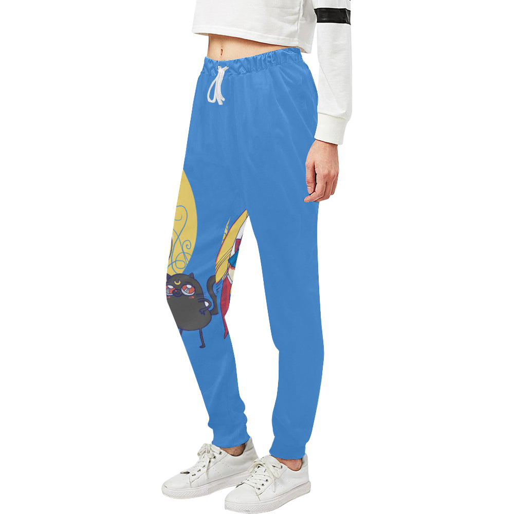 Adventuremon Sweats Women's All Over Print Sweatpants (Model L11)