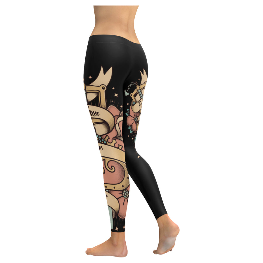 Follow Your Heart Low Rise Leggings