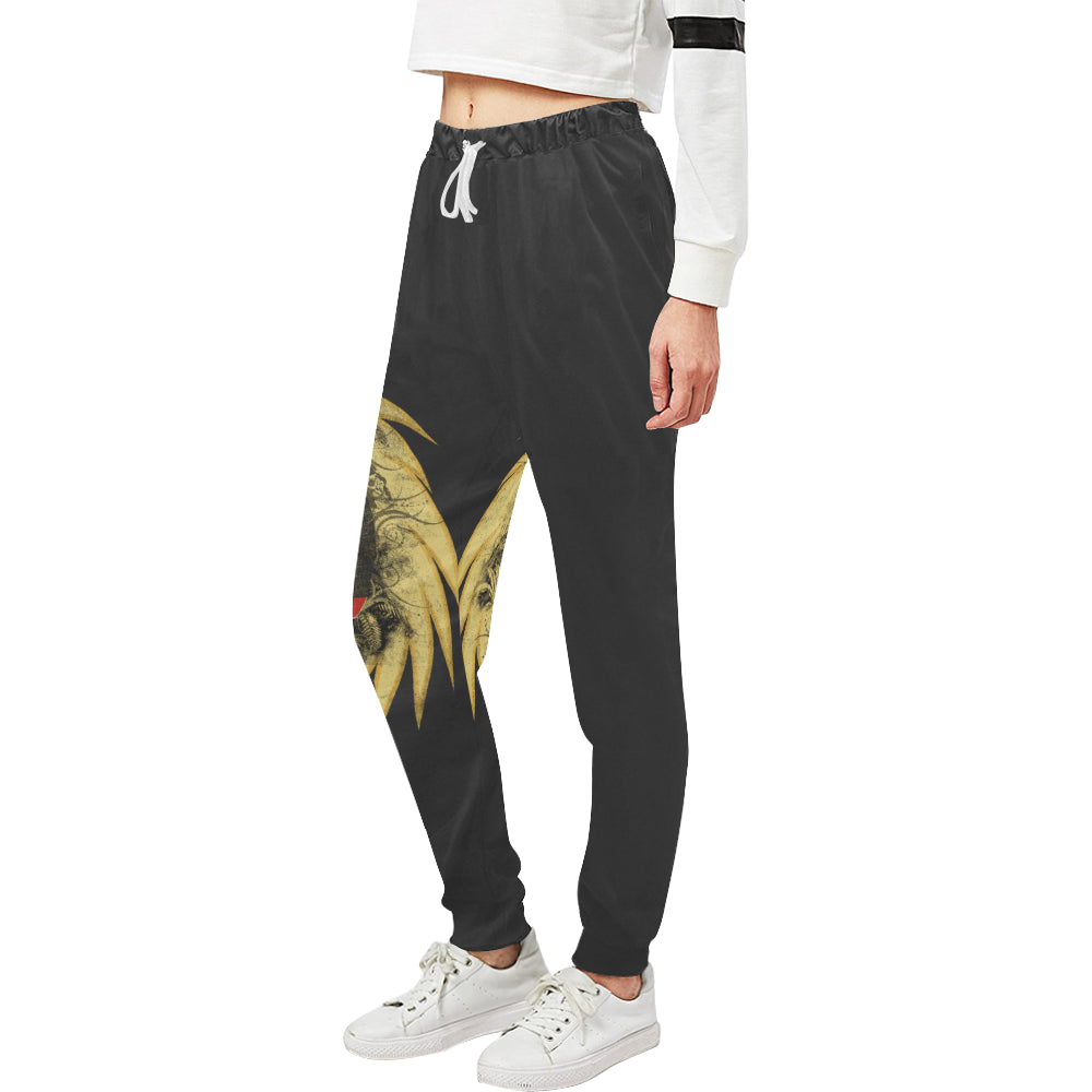 Nature Rising Lady Sweats Women's All Over Print Sweatpants (Model L11)