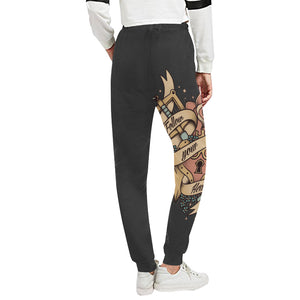 Follow your heart Sweats Women's All Over Print Sweatpants (Model L11)