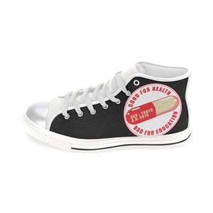 capsule Women's Classic High Top Canvas Shoes (Model 017)