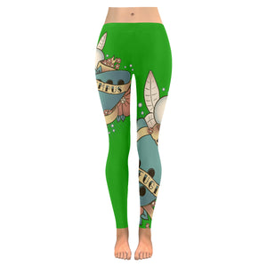 Tempus Figit Leggings Green