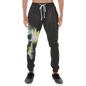 Vegeta Sweats Men's All Over Print Sweatpants (Model L11)