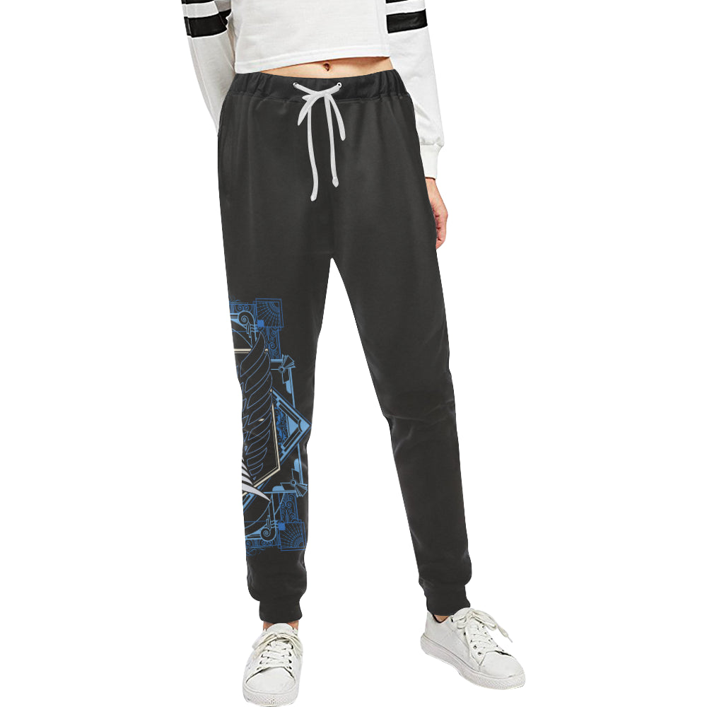 Attack on Art  Sweats Women's All Over Print Sweatpants (Model L11)