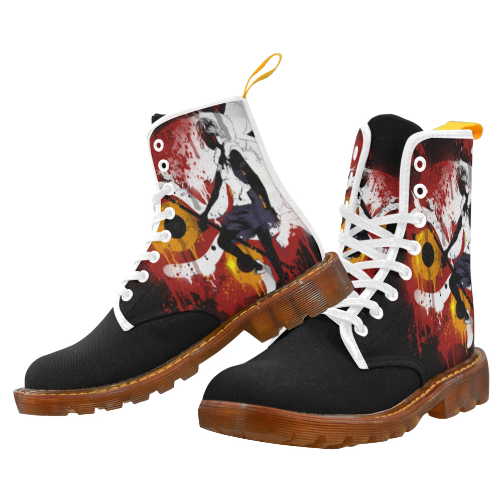 mononoke Graffiti Men's Boot Martin Boots For Men Model 1203H