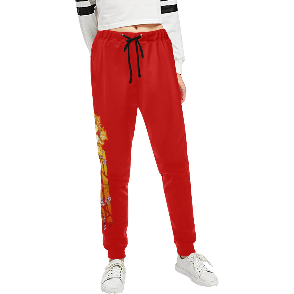 Spirit Of Fire Sweats Women's All Over Print Sweatpants (Model L11)