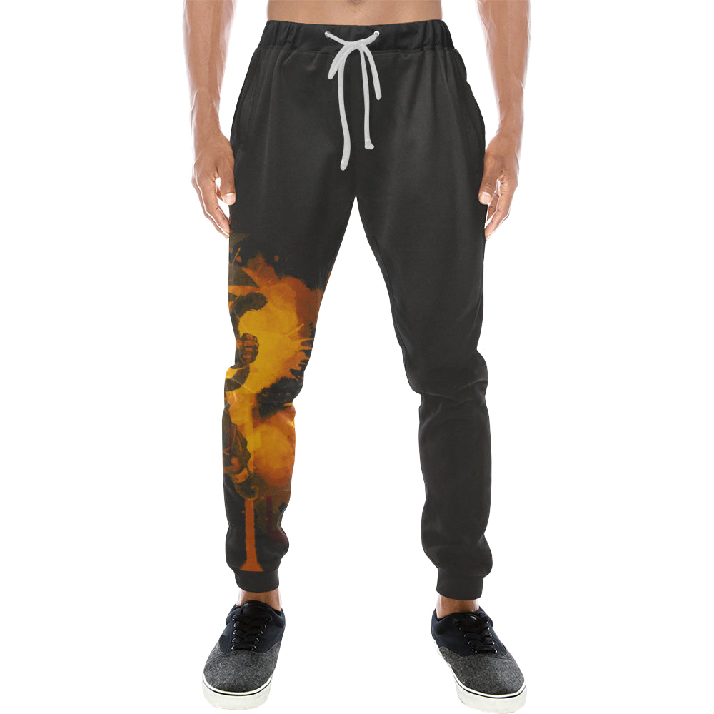 Inked Dragon Sweats Men's All Over Print Sweatpants (Model L11)