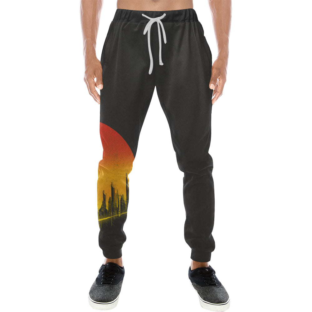 Bang! Sweats Men's All Over Print Sweatpants (Model L11)