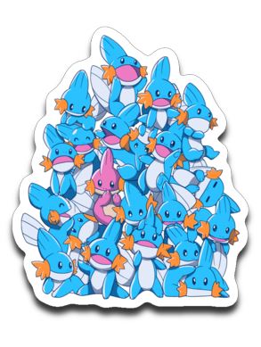 A Pile of Water Starters-Decals-Art Of Sarah Richford|Threadiverse
