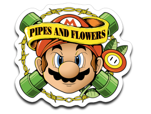 Pipes And Flowers