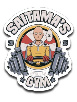 Saitama's Gym-Decals-Typhoonic Artwork|Threadiverse