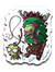 Zim Stole Christmas-Decals-CoD (Create Or Destroy) Designs|Threadiverse
