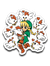 Linkle The Cucco Queen-Decals-Art Of Sarah Richford|Threadiverse