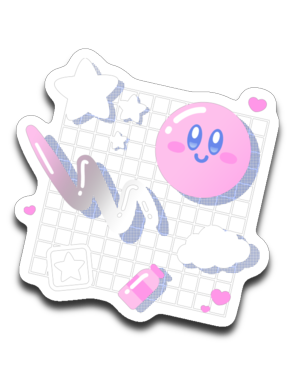 Kirby Aesthetic-Decals-Minilla|Threadiverse
