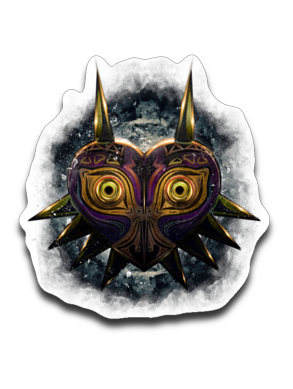 Majora's Gaze-Decals-Barrett Biggers|Threadiverse