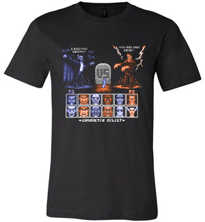 Universal Monster Fighter Dos-Pop Culture Shirts-Stationjack|Threadiverse