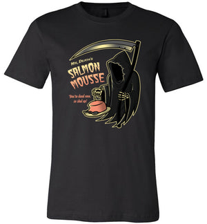 Salmon Mousse-Pop Culture Shirts-Stationjack|Threadiverse