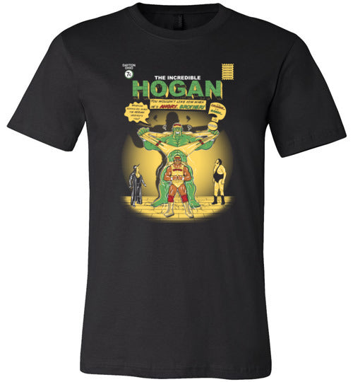 The Incredible Hogan-Pop Culture Shirts-Stationjack|Threadiverse