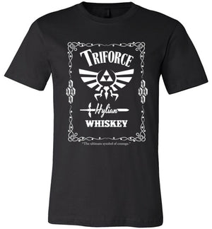 Triforce Whiskey-Gaming Shirts-Punksthetic Designs|Threadiverse